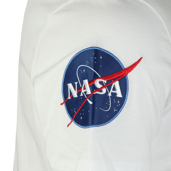 Alpha Industries Mens White Nasa T Shirt main image