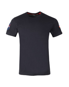 Alpha Industries Mens Blue Nasa T Shirt