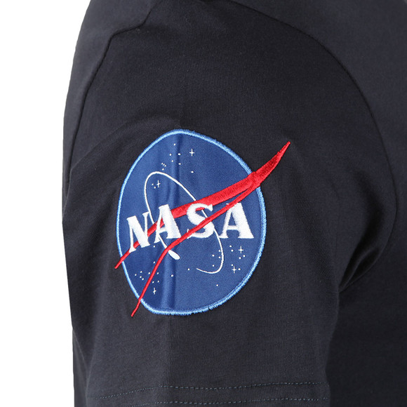 Alpha Industries Mens Blue Nasa T Shirt main image