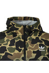 adidas Originals Mens Green Camo Windbreaker