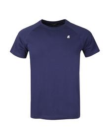 K-Way Mens Blue Edwing T Shirt