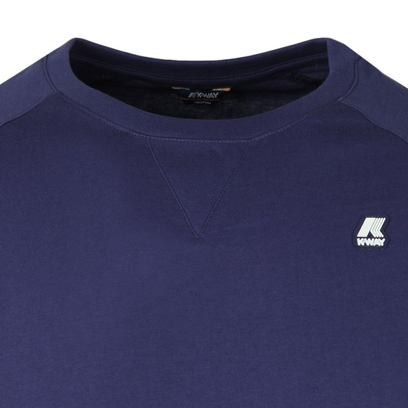 K-Way Mens Blue Edwing T Shirt main image