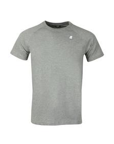 K-Way Mens Grey Edwing T Shirt