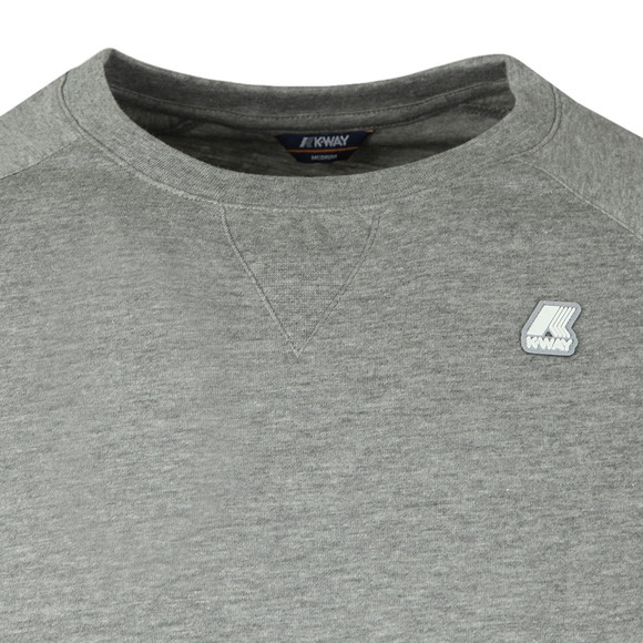 K-Way Mens Grey Edwing T Shirt main image