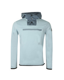 Weekend Offender Mens Blue Herriot Hooded Sweat