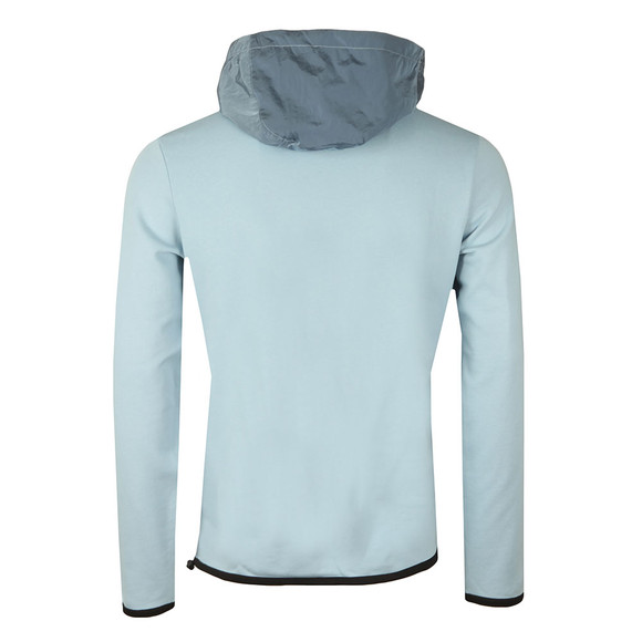 Weekend Offender Mens Blue Herriot Hooded Sweat main image