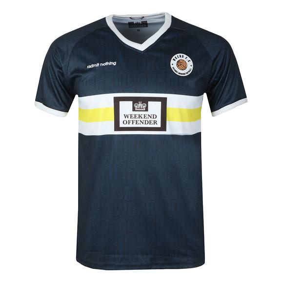 Weekend Offender Mens Blue Weekend FC T Shirt main image