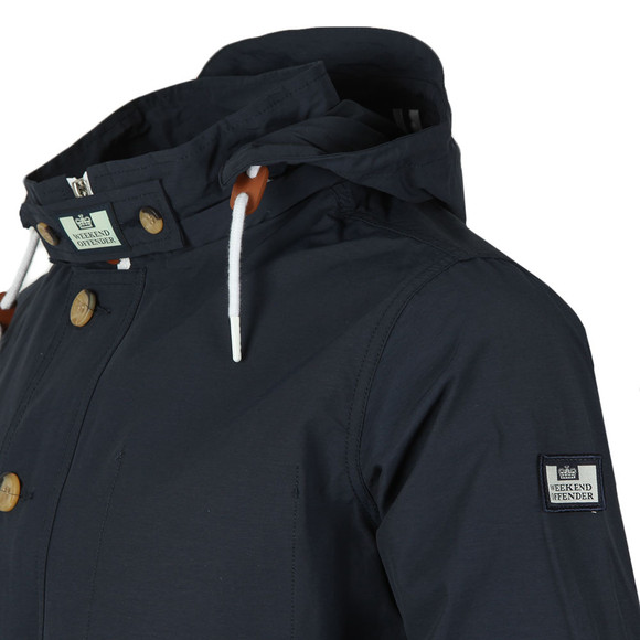 Weekend Offender Mens Blue Burgess Jacket main image