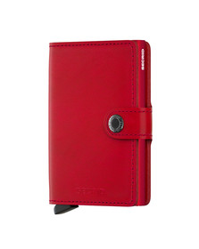 Secrid Mens Red Original Mini Wallet