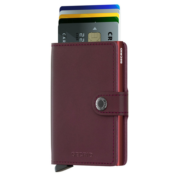 Secrid Mens Red Original Mini Wallet main image