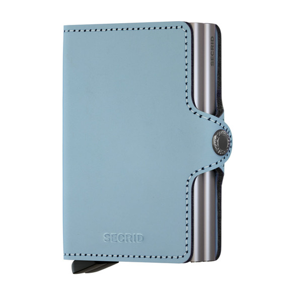 Secrid Mens Blue Matte Twin Wallet main image