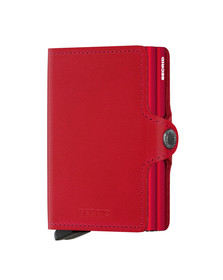 Secrid Mens Red Original Twin Wallet