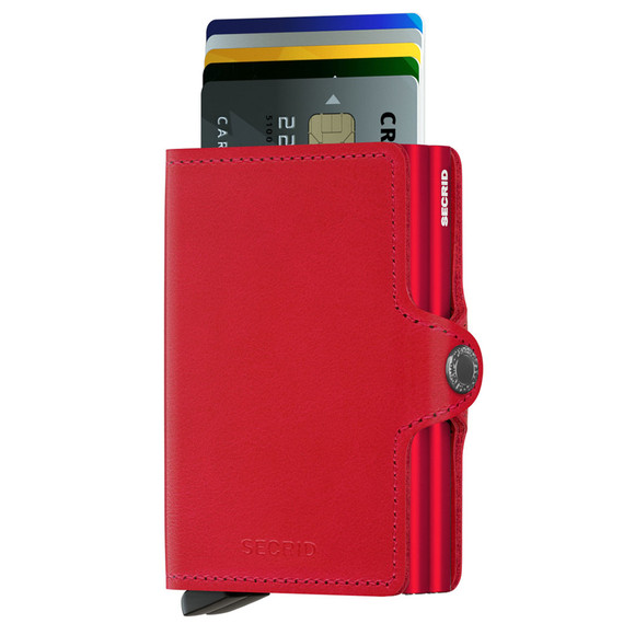 Secrid Mens Red Original Twin Wallet main image