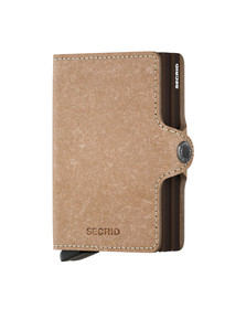 Secrid Mens Beige Recycled Twin Wallet