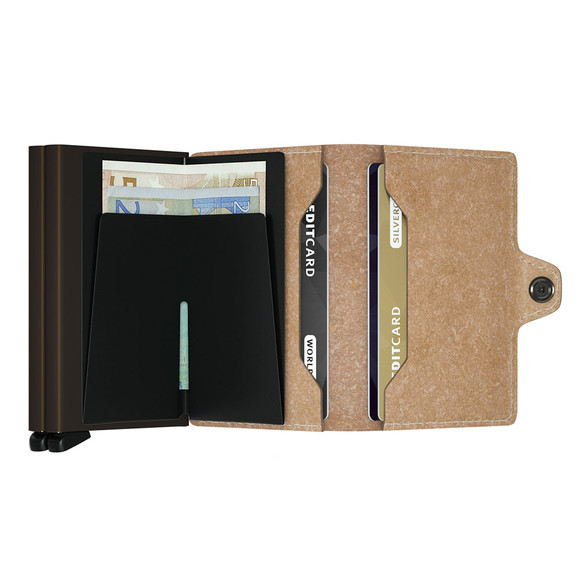 Secrid Mens Beige Recycled Twin Wallet main image