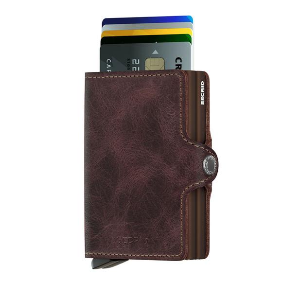 Secrid Mens Brown Vintage Twin Wallet main image