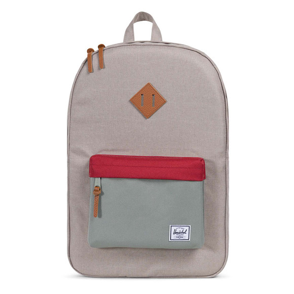 Herschel Mens Green Heritage Backpack main image