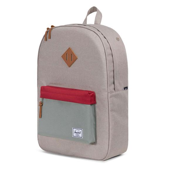 Herschel Mens Green Heritage Backpack main image
