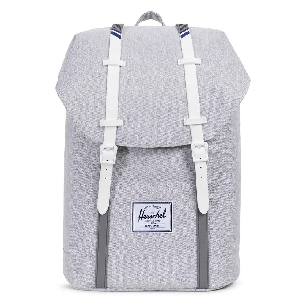 Herschel Mens Grey Retreat Backpack 6f83a03242f65