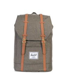 Herschel Mens Brown Retreat Backpack