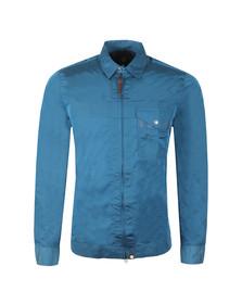 Pretty Green Mens Blue Lightweight Zip Through Jacket