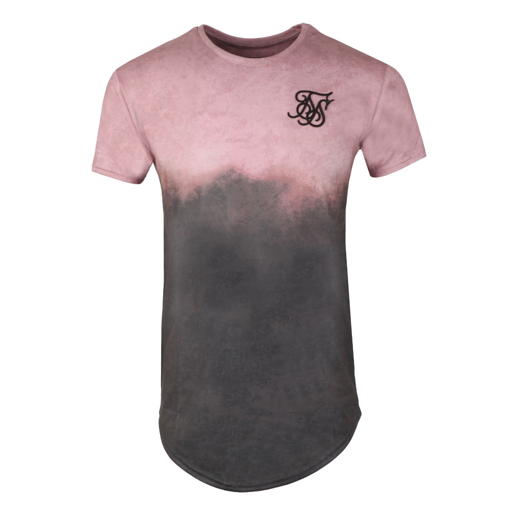 S/S Curved Hem Faded Tee main image