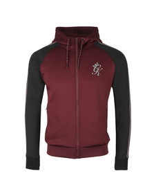 Gym King Mens Red Lester Poly Tracksuit Top