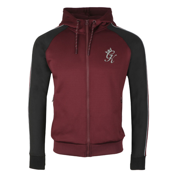 Gym King Mens Red Lester Poly Tracksuit Top main image