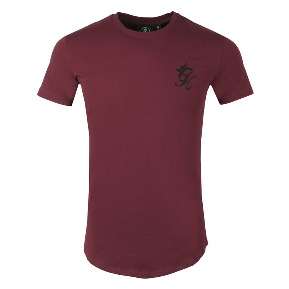 Gym King Mens Red S/S LongLine Tee main image