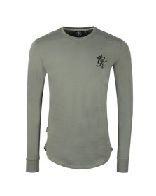 Gym King Mens Grey L/S Undergarment Tee