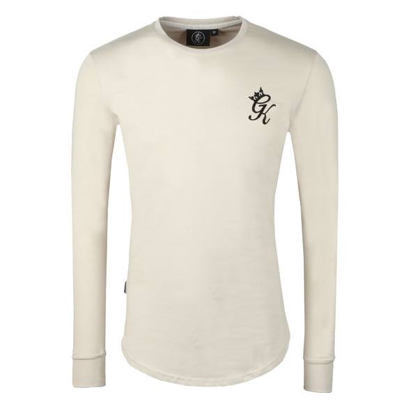 Gym King Mens Beige L/S Undergarment Tee main image