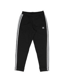 Adidas Originals Mens Black 3 Stripe Sweat Pant