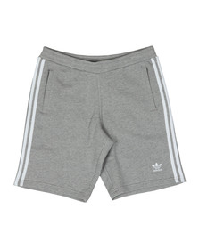 Adidas Originals Mens Grey 3 Stripes Sweat Short