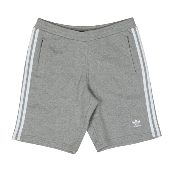 Adidas Originals Mens Grey 3 Stripes Sweat Short main image