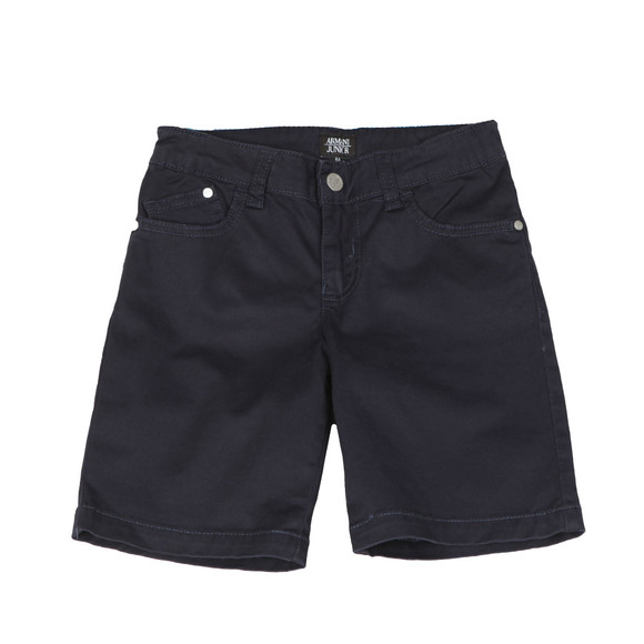 Armani Junior  Boys Blue 3Z4S01 Chino Short main image
