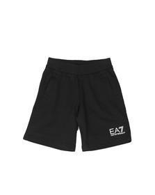 EA7 Emporio Armani Boys Black Jersey Short