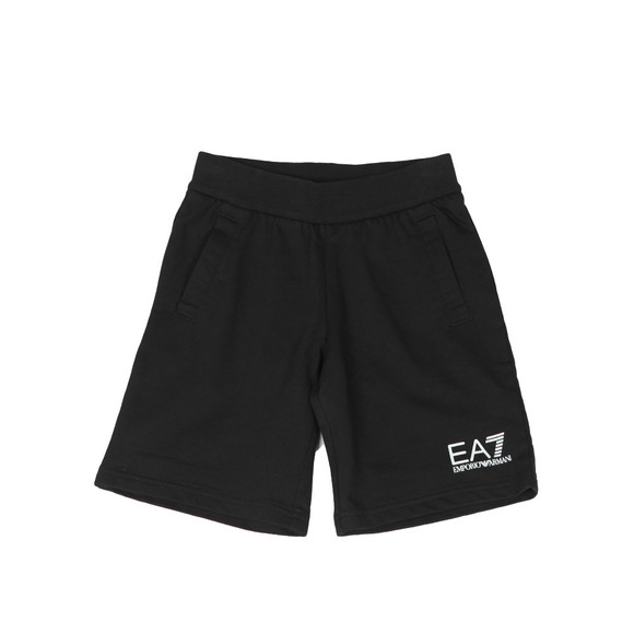 EA7 Emporio Armani Boys Black Jersey Short main image