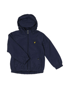 Lyle And Scott Junior Boys Blue Shell Jacket