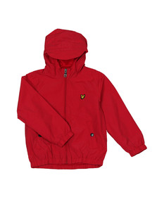 Lyle And Scott Junior Boys Red Shell Jacket
