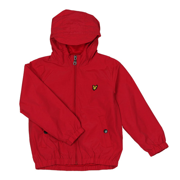 Lyle And Scott Junior Boys Red Shell Jacket main image