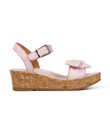 Ugg Girls Off-white K Milley Bow Sandal