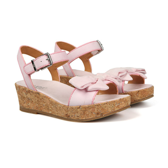 Ugg Girls Off-White K Milley Bow Sandal
