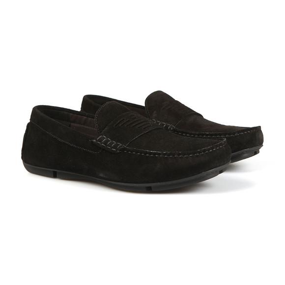 Emporio Armani Mens Black X4B113 Driver Shoe main image