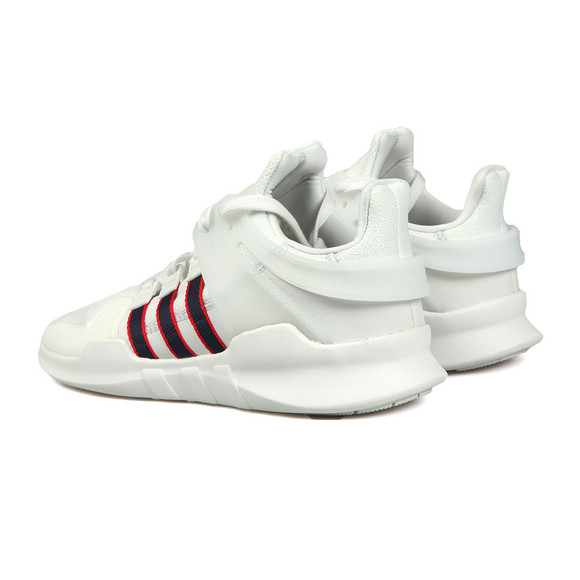 Adidas Originals Mens White EQT Support ADV Trainer main image