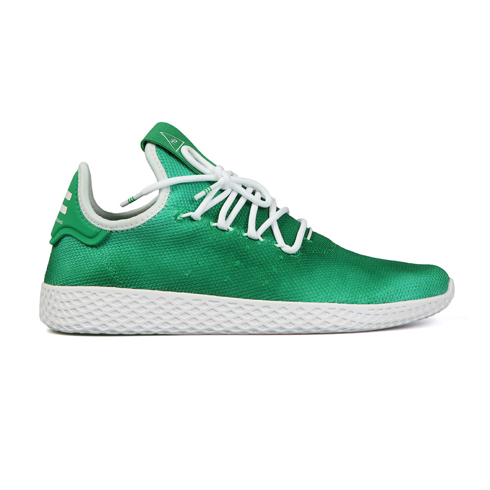 9953bad96eae0 adidas Originals Mens Green Pharrell Williams Tennis HU Trainer