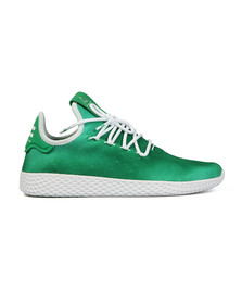Adidas Originals Mens Green Pharrell Williams Tennis HU Trainer