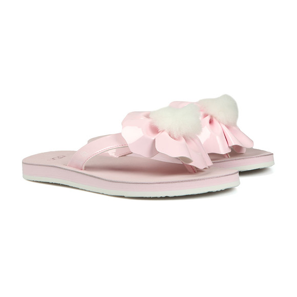 Ugg Womens Pink Poppy Flip Flop main image