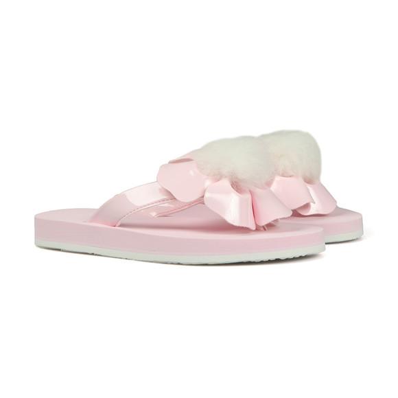Ugg Girls Pink Girls Poppy Flip Flop
