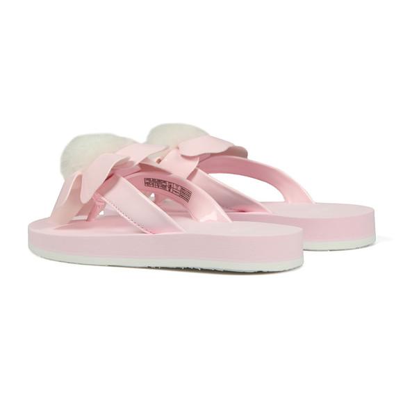 Ugg Girls Pink Girls Poppy Flip Flop main image