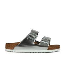 Birkenstock Womens Silver Arizona Sandal